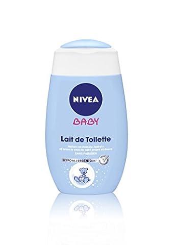 Nivea Baby Lait de Toilette Hydratant 200 ml - Lot de 2