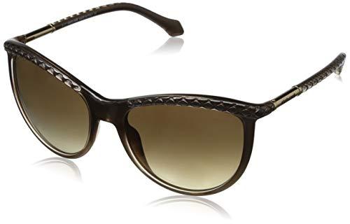 Roberto Cavalli Damen Sonnenbrille, Brown, 58