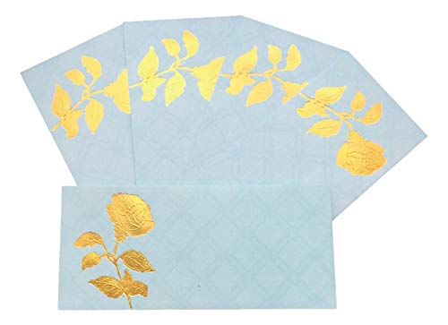 EL215 Briefumschläge/Umschläge, Design Shagun, für Salami-Geschenk, Designer Einladungskarten, Geburtstag, Eid, Hochzeit, Geschenk, Karten, Umschläge, 5 Stück