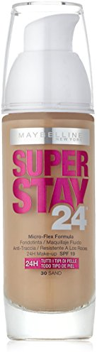 Maybelline New York SuperStay 24H - Fondotinta liquido - 30 Sand