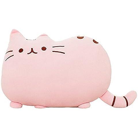 """Creative Pillow Pet, motivo Big Cat-Cuscino a forma di divano, morbido peluche Bambola 38,10 cm (15"""") 1 pezzo, colore: rosa"""