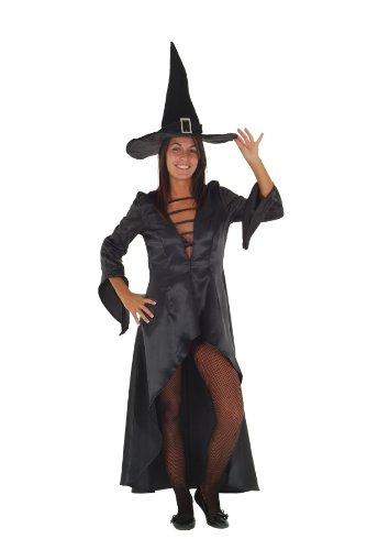 Hexenkostüm für Erwachsene Zauberin Halloweenkostüm Damen Hexe Magierin -