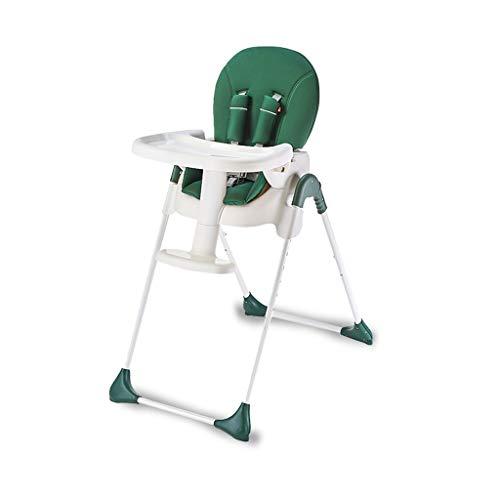 WM Home Baby Esszimmerstuhl Kind Einstellbare tragbare Kindersitzstuhl Multifunktionale Baby Esstisch Klappstuhl (Color : B)
