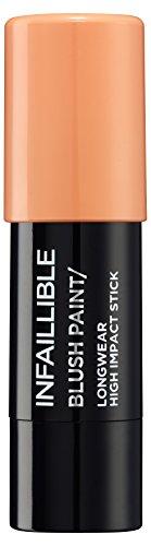 L 'Oréal Make Up Designer Paris Infaillible Paint Gesicht Chubby Stick Blush 02 Tangerine Mondrian
