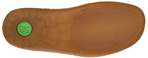 El Naturalista Damen N5272 Soft Grain El Viajero Schuhe mit Plattform Orange (Carrot)