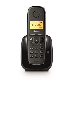 Gigaset A280 Telefono Portatile con Vivavoce Alta Qualità, Tastiera Illuminata, Display illuminato,...
