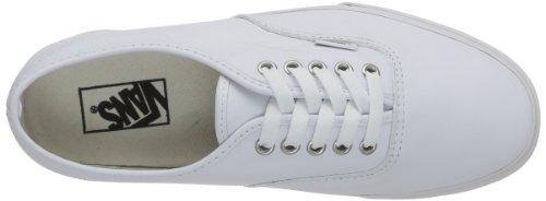 Vans Authentic Scarpe da Skateboard, Unisex Adulto Bianco (Leather Truwht)