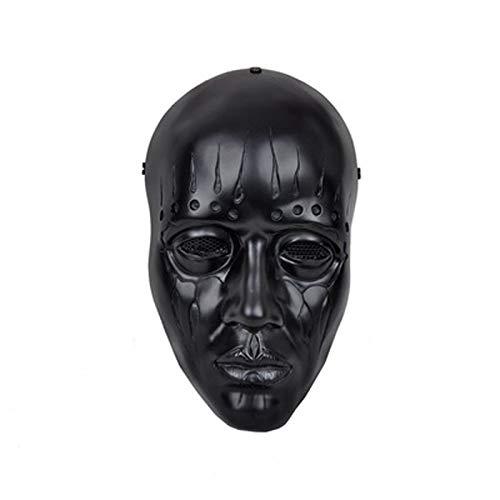 oween Horror Maske Für Festival Rollenspiel Party Weihnachten,Black ()