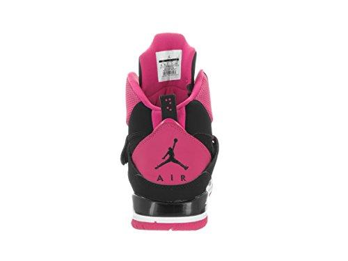 Nike Jordan Flight 45 High Ip Gg, Scarpe da Basket Bambina Black (Nero / Vivid rosa-rosa-bianco Vivid)