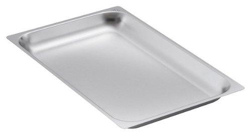GN-Behälter mit verstärktem Rand – Blech 2/1 GN, 40 mm tief