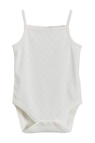 next Baby Mädchen Pointelle Bodys 3Er Pack Ecru 1.5-2 Jahre Baby-pointelle