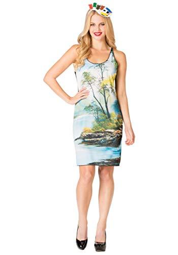 Rasta Imposta Bob Ross Tank Dress ()