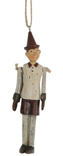 Clayre & Eef 6PR0052 Hänger Pinocchio 3 * 2 * 12 cm