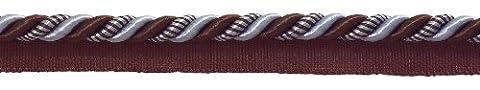 10Yard Value Pack Medium Brown, Light Blau Barock Collection 5/40,6cm