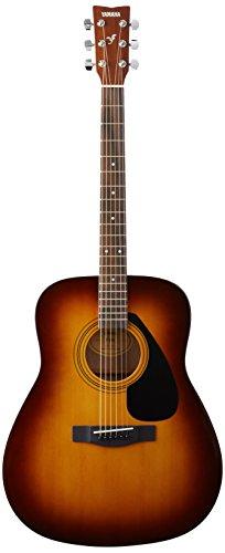 Yamaha F310 TBS Westerngitarre braun sunburst - Hochwertige Dreadnought-Akustikgitarre für Erwachsene & Jugendliche - 4/4 Gitarre aus Holz