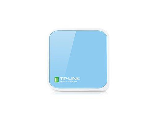 TP-Link TL-WR702N - Router inalámbrico, sobremesa, 802.11b/g/n