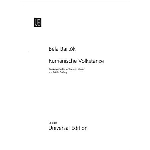 Rumaenische Volkstaenze - Piano et Klavier