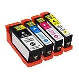 Prestige Cartridge 31 Pack de 4 XL Cartouches d'encre compatible avec Imprimante Dell V525W/V725W Noir/Cyan/Magenta/Jaune