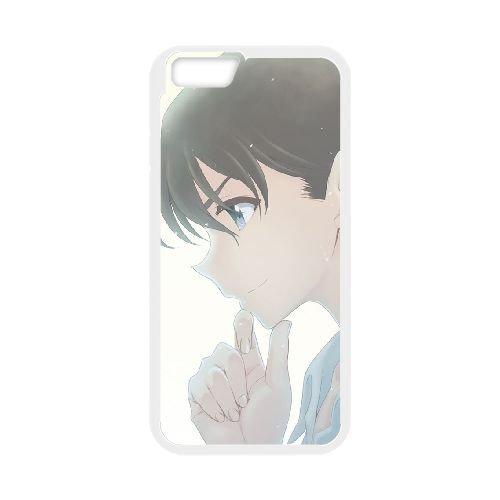 Detective Conan coque iPhone 6 Plus 5.5 Inch Housse Blanc téléphone portable couverture de cas coque EBDXJKNBO10088