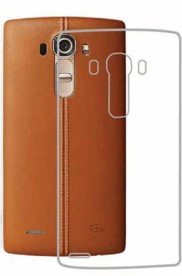 memore Ultra Thin 0.3mm Clear Transparent Flexible Soft TPU Slim Back Case Cover For LG G4  available at amazon for Rs.110