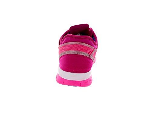 Nike Free 5.0, Chaussures de running femme Rose (Pink Bow/White Fireberry Polar)