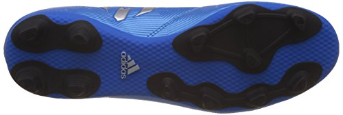adidas Messi 16.4 Fxg, Entraînement de football homme Multicolore - Multicolore (Shoblu/Msilve/Cblack)