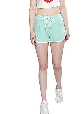 BESIVA Women's Cotton Shorts