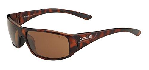 bollé Erwachsene Weaver Sonnenbrille, Shiny Tortoise, Small