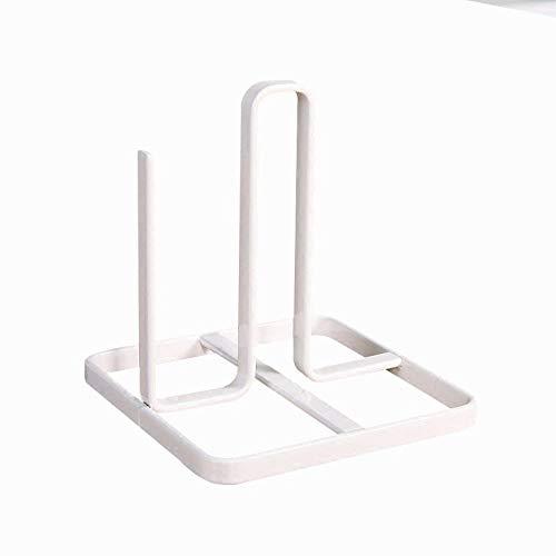 YesDone Serviettenhalter Kleine frische und einfache schmiedeeisen vertikale rollenpapier handtuchhalter küche Badezimmer frei lochen lagerregal