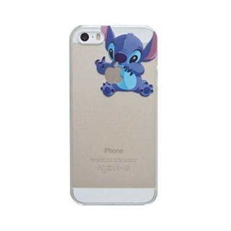 Sufs Coque transparente Disney pour Apple iPhone avec accessoire Sufs, Small Stitch, iPhone 5/5S