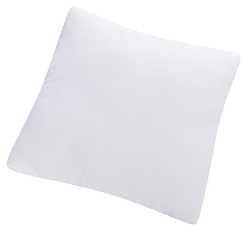 Aminata – weißes Füllkissen 50x50 cm aus 100% Mikrofaser mit Faserfüllung  für Allergiker geeignet  Oeko-Tex zertifiziertes Innenkissen Kissenfüllung Sofakissen Dekokissen Zierkissen Kopfkissen Kissen