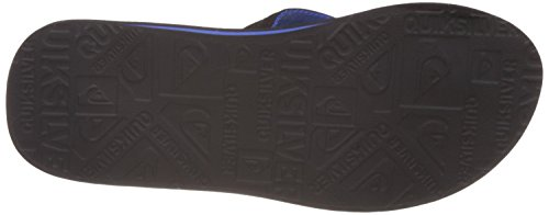 Quiksilver Basis, Tongs Homme Noir - Black/Black/Grey