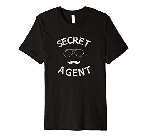 Secret Agent Halloween Funny Kostüm Tee T-Shirt