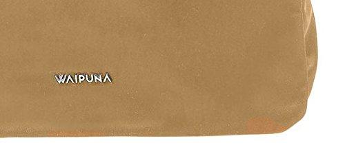 Waipuna, Borsa a spalla donna B 33 cm x H 26 cm x T 14 cm , 450 g. camel / camel