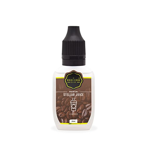 KNUQO STELLAR Juice 25ml - Kaffee-Geschmack | e-Zigarette | e Shisha eLiquid Flasche | Wiederaufladbare Elektronische Zigarette Liquid | Nikotinfrei | e Shisha | eShisha Club