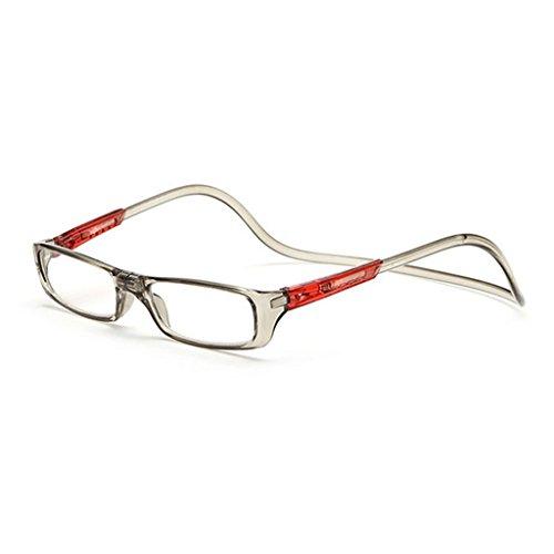 Eliky Magnet Lesebrille Einstellbare hängenden Hals Presbyopie Brille Unisex