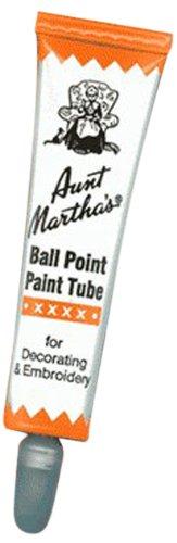 Aunt Martha's Ballpoint Paint Tubes 30ml-Orange, Orange