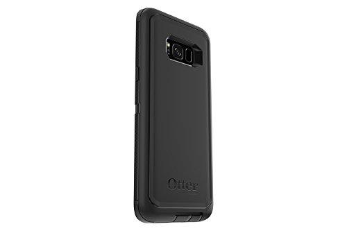 OtterBox Defender Schutzhülle (geeignet für Samsung Galaxy S8+) schwarz