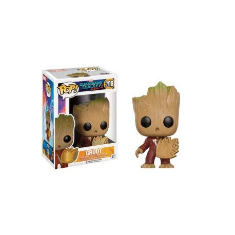 Figura Vinyl Pop! Guardians of The Galaxy 2 Young Groot with Shield