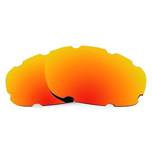 Revant Ersatzlinsen für Oakley Split Jacket Vented Polarisierung Elite Feuerrot MirrorShield®