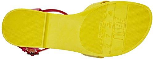 Zaxy Kids Zizou Sandal, Sandales fille Jaune - Yellow (Yellow Flamingo)