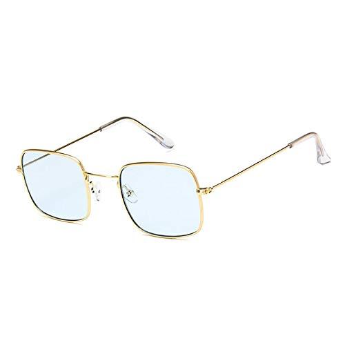 YUHANGH Vintage Gelb Klare Sonnenbrille Frauen Und Männer Brille Frames Bonbonfarbensonnenbrille Rosa Brille De Sol
