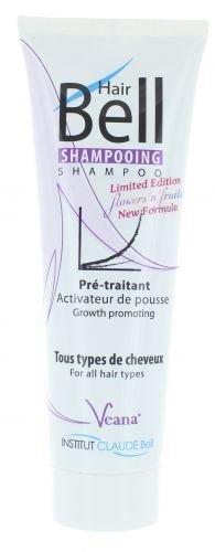 HairBell Shampoo - flowers'n'fruits (250ml) - Neue Formel + Neuer Duft - Hair Jazz Hair Plus (Männer Neue Tester)