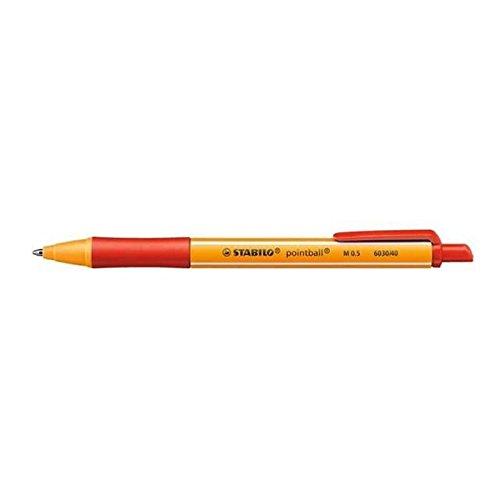 Kugelschreiber pointball rot