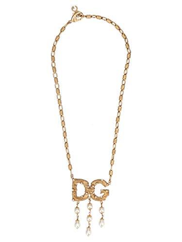 DOLCE E GABBANA Damen Wnl6a1w1111zoo00 Gold Metall Hallskette