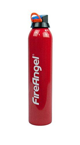 FireAngel Löschspray, besonders geeignet bei der Bekämpfung von kleinen Entstehungsbränden in privaten Haushalten, 1 Stück, rot, FE-F600-DE