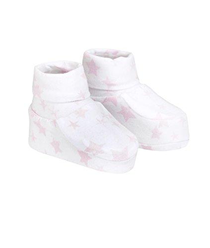 Döll Baby-Mädchen Socken Babyschuhe Jersey, Rosa (Pink 2720), One Size (Herstellergröße: 0)