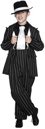 Smiffys 25600T Kostüm Zoot, Schwarz, Teenager Jungen, Alter 12 Jahre