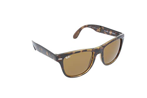 Ray-Ban RAYBAN Unisex-Erwachsene Sonnenbrille 4360, Top Violet On Orange Havana/Violetgradientbrown, 54
