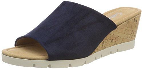 Gabor Shoes Damen Comfort Sport Riemchensandalen, Blau (River (Kork)), 36 EU